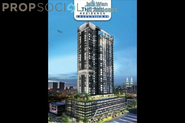 For Sale Serviced Residence at The Sky Residence, Cheras Leasehold Unfurnished 2R/2B 360k