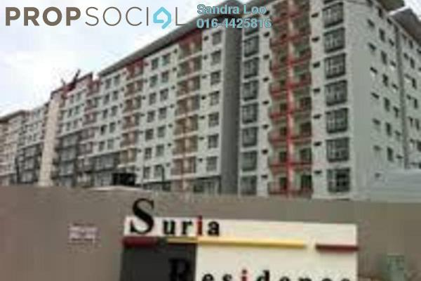 For Sale Condominium at Suria Residence, Bandar Mahkota Cheras Freehold Unfurnished 3R/2B 395k