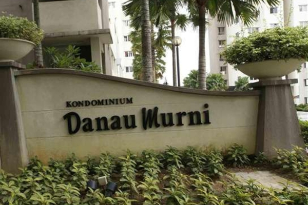 For Rent Condominium at Danau Murni, Taman Desa Leasehold Semi Furnished 3R/2B 1.4k