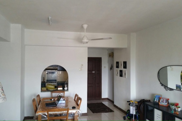 For Rent Condominium at Vista Komanwel, Bukit Jalil Freehold Semi Furnished 3R/2B 1.7k