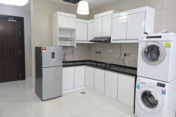 For Rent Condominium at Icon Residence, Dutamas Freehold Fully Furnished 1R/1B 3.7k