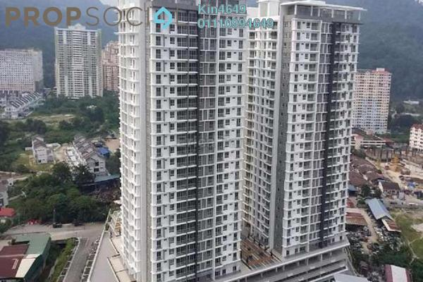 For Sale Condominium at Gardens Ville, Sungai Ara Freehold Unfurnished 3R/2B 614k