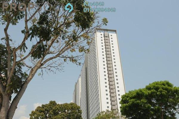 For Rent Apartment at Centrio Avenue, Bukit Gambier Freehold Semi Furnished 3R/1B 1k