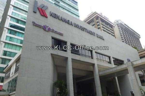 For Rent Office at Kenanga International, KLCC Leasehold Unfurnished 0R/0B 105k