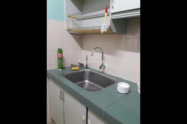 For Rent Apartment at D'Aman Crimson, Ara Damansara Leasehold Semi Furnished 3R/2B 1.45Ribu