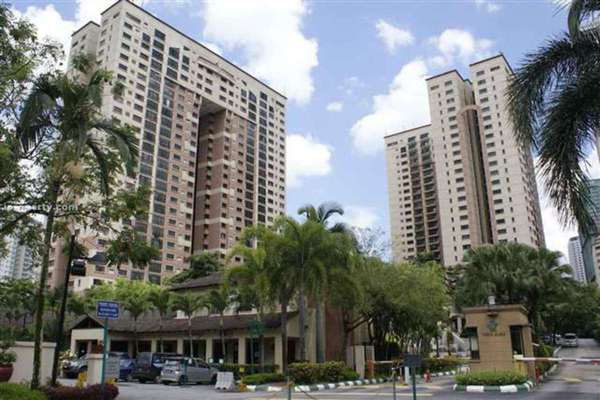 For Rent Condominium at Vista Kiara, Mont Kiara Leasehold Fully Furnished 3R/2B 3k
