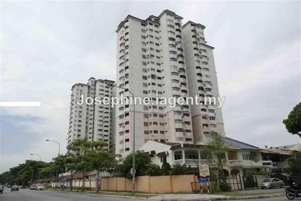 For Rent Condominium at BAM Villa, Cheras Leasehold Semi Furnished 2R/2B 1.3k