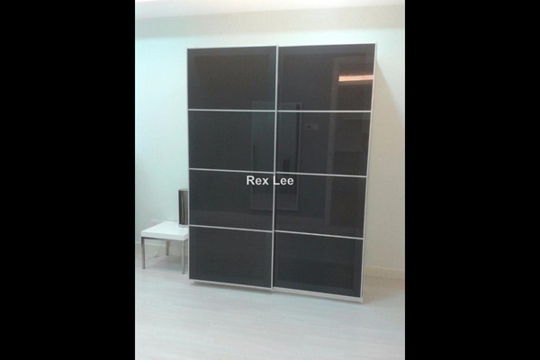 For Sale Serviced Residence at Binjai 8, KLCC Leasehold Semi Furnished 1R/1B 870k