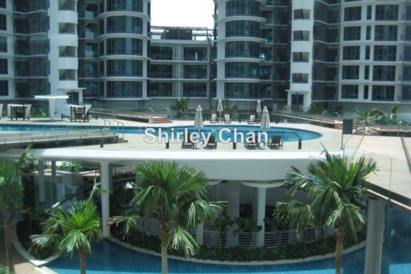 For Rent Condominium at 11 Mont Kiara, Mont Kiara Freehold Semi Furnished 4R/6B 10k