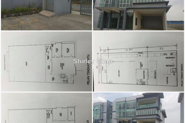 For Rent Factory at Bukit Kemuning Industrial Park, Kota Kemuning  Unfurnished 0R/0B 15k