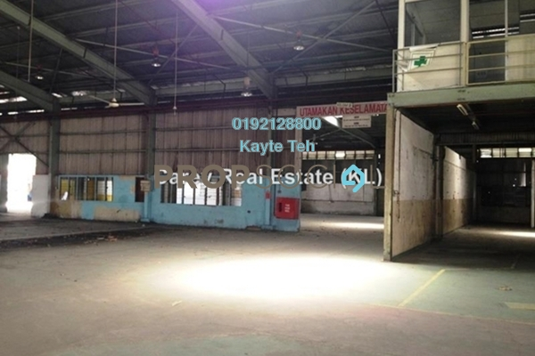 For Rent Factory at Bangi Industrial Estate, Bangi Leasehold Unfurnished 0R/0B 58.3k