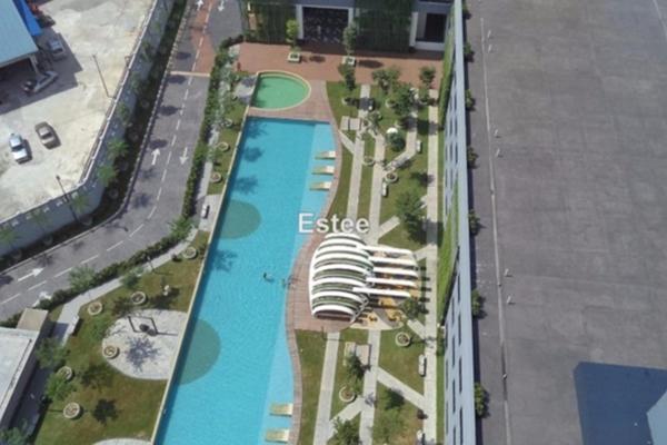 For Rent Serviced Residence at Skypod, Bandar Puchong Jaya Freehold Unfurnished 2R/2B 1.6k