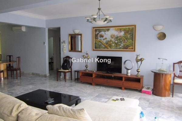For Sale Condominium at Menara Bukit Ceylon, Bukit Ceylon Leasehold Fully Furnished 3R/2B 1.05m
