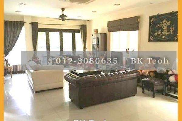 For Sale Semi-Detached at Aman Sari, Puchong Leasehold Semi Furnished 5R/4B 1.8m