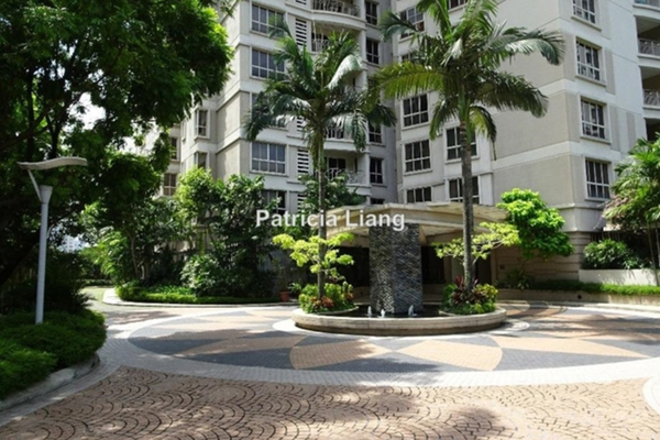 For Rent Condominium at Kiaramas Cendana, Mont Kiara Leasehold Semi Furnished 3R/3B 4k