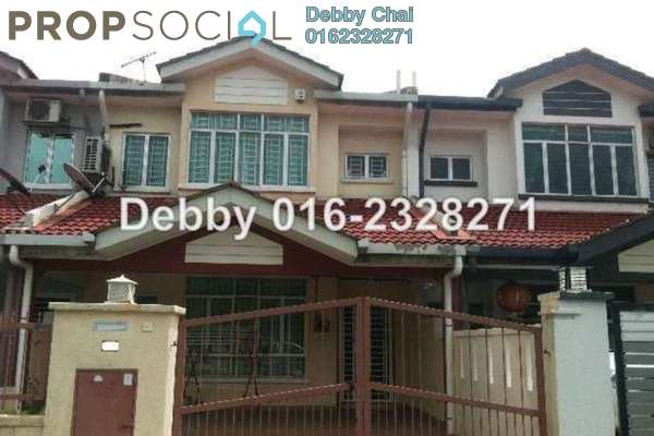 For Sale Terrace at PU1, Bandar Puchong Utama Freehold Unfurnished 4R/3B 880k