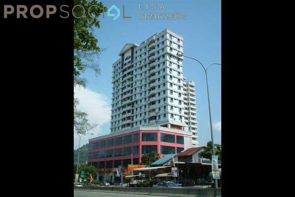 For Rent Condominium at Menara Asas, Tanjung Bungah Freehold Fully Furnished 3R/2B 1.5k