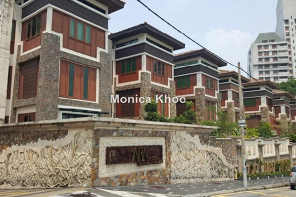 For Rent Bungalow at The Ara, Bangsar Freehold Semi Furnished 5R/6B 10k