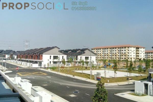 For Rent Terrace at Nahara, Bandar Bukit Raja Freehold Semi Furnished 4R/3B 1.5k