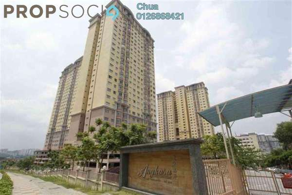 For Rent Condominium at Angkasa Condominiums, Cheras Freehold Semi Furnished 3R/2B 1.8k