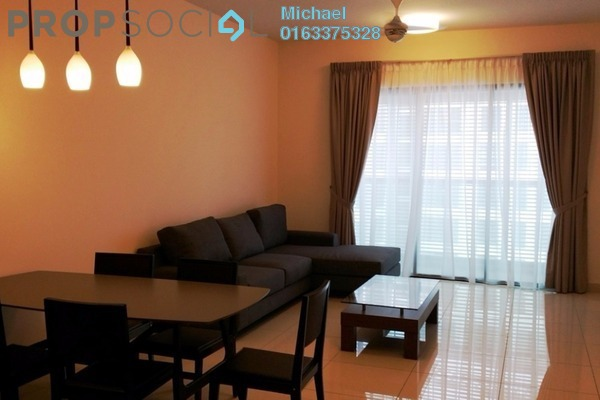 For Rent Condominium at Isola, Subang Jaya Freehold Semi Furnished 4R/4B 6k