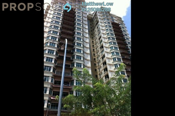 For Rent Apartment at Ixora Heights, Sungai Nibong Freehold Semi Furnished 3R/2B 1.4k