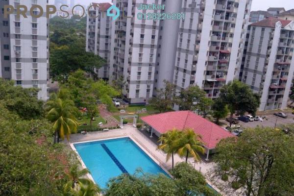 For Rent Condominium at Miharja Condominium, Cheras Leasehold Fully Furnished 4R/2B 1.4k