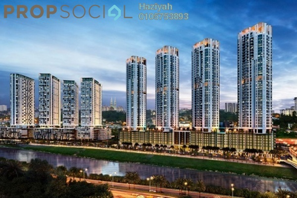 For Sale Condominium at Vivo Residential @ 9 Seputeh, Old Klang Road Leasehold Semi Furnished 3R/2B 892k