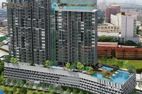 For Sale Serviced Residence at The Pano, Sentul Freehold Semi Furnished 1R/1B 461k