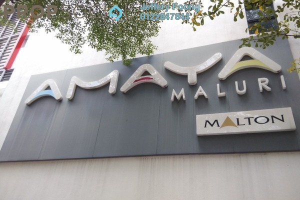 For Rent Shop at Amaya Maluri, Cheras Leasehold Unfurnished 0R/1B 6.5k