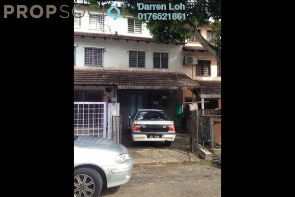 For Rent Terrace at Desa Setapak, Setapak Freehold Unfurnished 3R/2B 1.3k