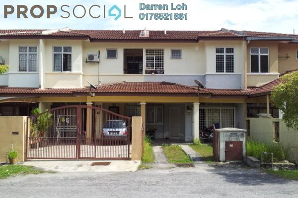 For Sale Terrace at Taman Lestari Putra, Bandar Putra Permai Leasehold Semi Furnished 4R/3B 395k