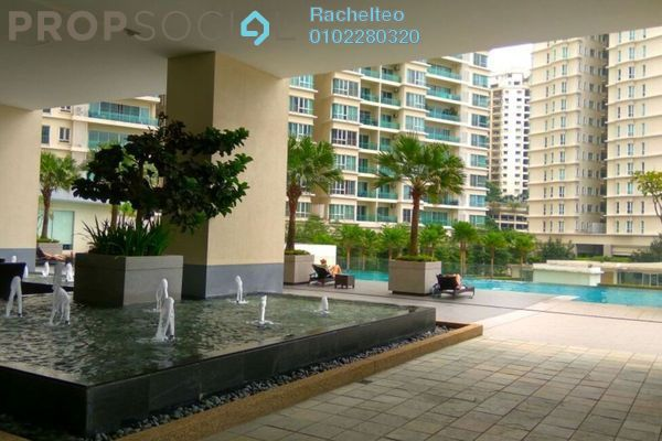 For Sale Serviced Residence at Camellia, Bangsar South Leasehold Fully Furnished 1R/1B 615k