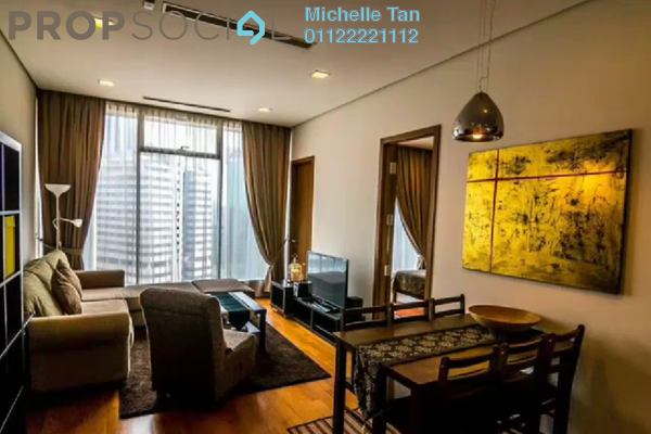 For Sale Condominium at Vipod Suites, KLCC Freehold Fully Furnished 1R/1B 1.2m