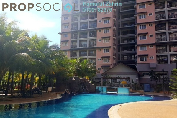 For Sale Condominium at Saujana Aster, Putrajaya Freehold Semi Furnished 3R/2B 540k