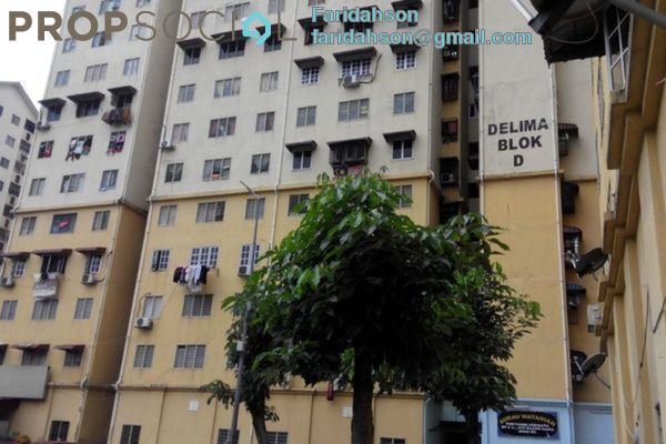 For Sale Apartment at Delima Apartment, Desa Pandan Leasehold Unfurnished 3R/2B 160k