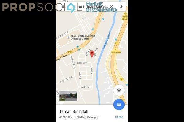 For Sale Terrace at Taman Sri Indah, Balakong Leasehold Unfurnished 3R/2B 350k