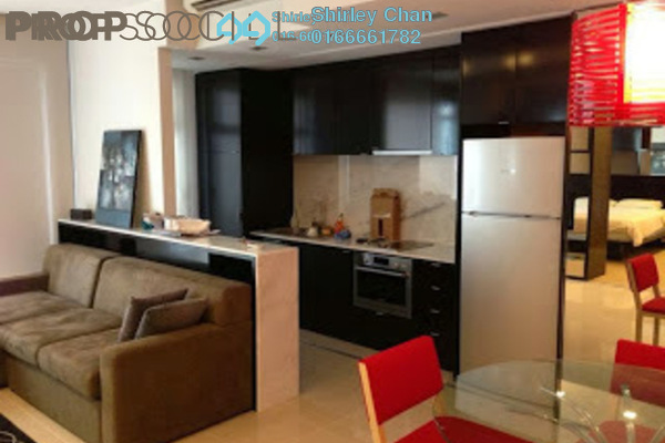 For Sale Condominium at VERVE Suites, Mont Kiara Freehold Fully Furnished 1R/1B 680k