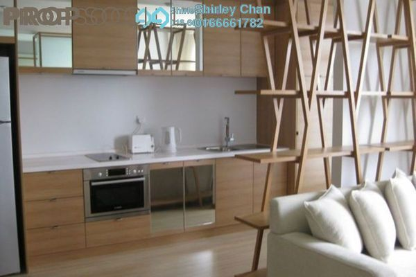 For Sale Condominium at VERVE Suites, Mont Kiara Freehold Fully Furnished 2R/2B 860k