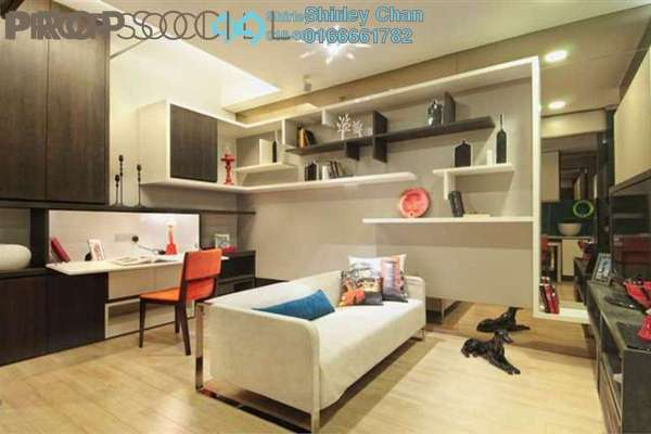 For Rent SoHo/Studio at VERVE Suites, Mont Kiara Freehold Fully Furnished 1R/1B 2.6k