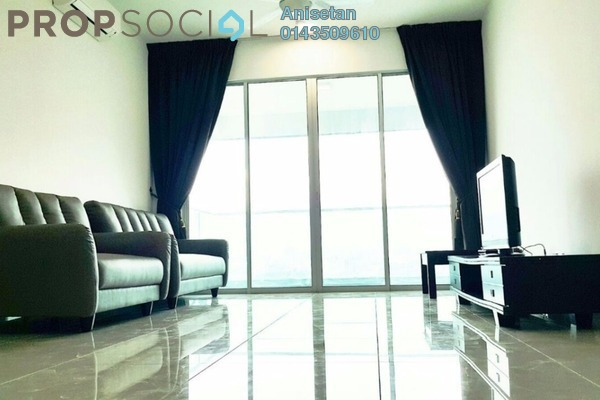 For Rent Condominium at Kiara Residence 2, Bukit Jalil Leasehold Fully Furnished 3R/2B 2.4k
