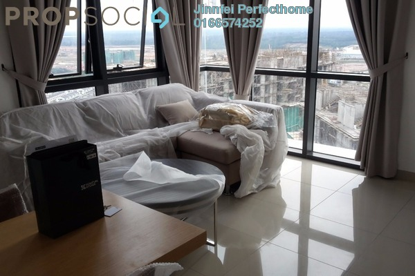 For Rent Condominium at Solstice @ Pan'gaea, Cyberjaya Freehold Fully Furnished 2R/2B 2.3k