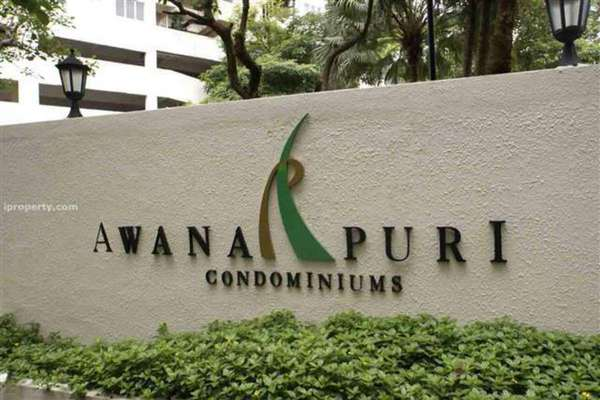 For Sale Condominium at Awana Puri, Cheras Leasehold Semi Furnished 3R/2B 580k