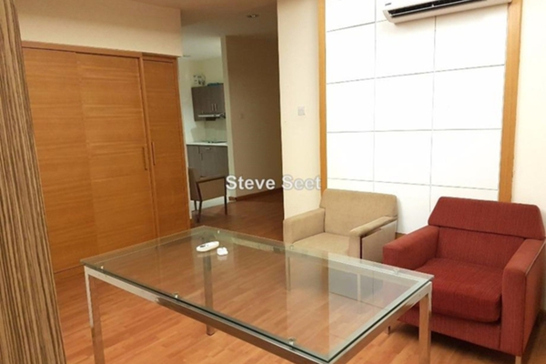 For Sale SoHo/Studio at Park View, KLCC Leasehold Fully Furnished 0R/1B 630k