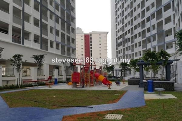 For Sale Condominium at Suasana Lumayan, Bandar Sri Permaisuri Leasehold Fully Furnished 3R/2B 465k