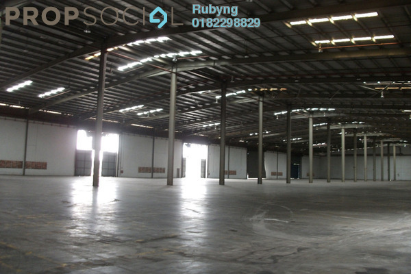 For Rent Factory at Pandamaran Industrial Estate, Port Klang Freehold Unfurnished 0R/0B 130k