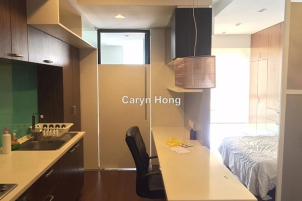 For Rent Condominium at VERVE Suites, Mont Kiara Leasehold Fully Furnished 1R/1B 2.3k