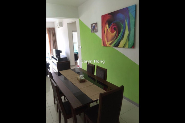 For Rent Condominium at Villa Orkid, Segambut Leasehold Fully Furnished 3R/3B 2.3k
