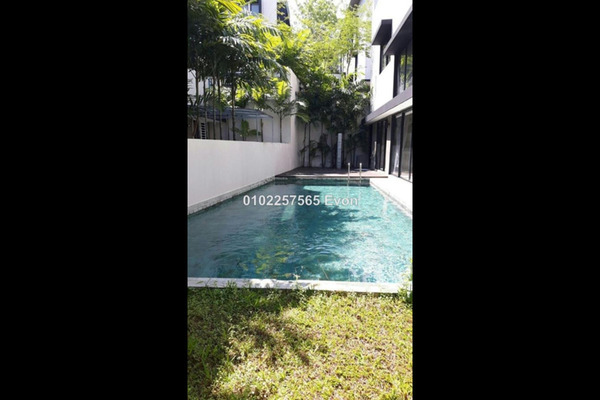 For Rent Bungalow at 20trees West, Melawati Freehold Semi Furnished 6R/7B 12k