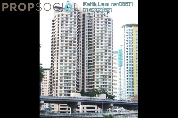 For Rent Condominium at i-Zen Kiara II, Mont Kiara Freehold Semi Furnished 2R/1B 3.5k